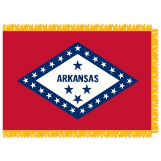 SFI-204-ARKANSAS Arkansas 4' x 6' Indoor Flag-0