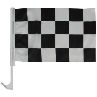 "AWC-001 11"" x 17"" Checkered Auto Window Flag-0"
