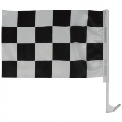 "AWC-001 11"" x 17"" Checkered Auto Window Flag-42699"