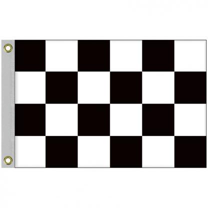 BWF-23 2' x 3' Outdoor Checkered Flag-0