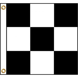 BWF-33 3' x 3' Outdoor Checkered Flag-0