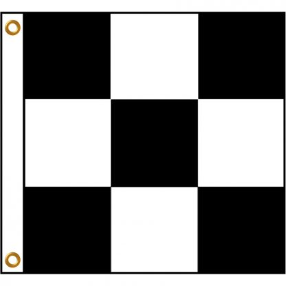 BWF-33 3' x 3' Outdoor Checkered Flag-0