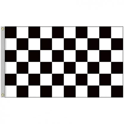 BWF-35 3' x 5' Outdoor Checkered Flag-0