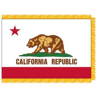 SFI-204-CALIFORNIA California 4' x 6' Indoor Flag-0