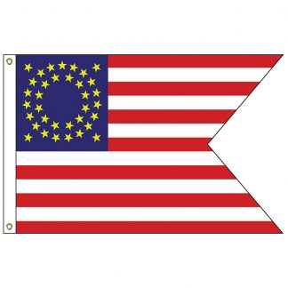 HF-404 Calvary Guidon 3' x 5' Outdoor Printed Nylon Flag -0