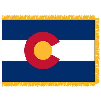 SFI-204-COLORADO Colorado 4' x 6' Indoor Flag-0
