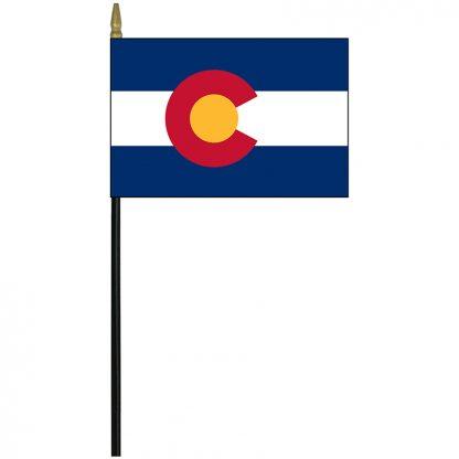 """MRF-46-COLORADO Colorado 4"""" x 6"""" Staff Mounted Rayon-0"""
