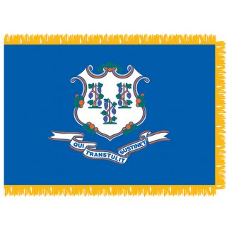 SFI-204-CONNECTICUT Connecticut 4' x 6' Indoor Flag-0