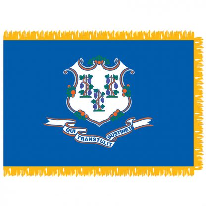 SFI-203-CONNECTICUT Connecticut 3' x 5' Indoor Flag-0
