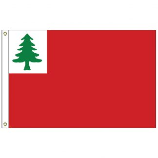 HF-411 Continental 3' x 5' Outdoor Nylon Flag with Heading and Grommets-0