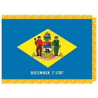 SFI-203-DELAWARE Delaware 3' x 5' Indoor Flag-0