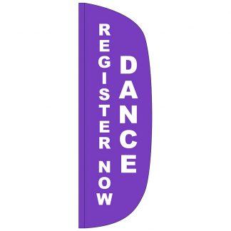 FF-L-310-DANCE Dance 3' x 10' Flutter Feather Flag-0
