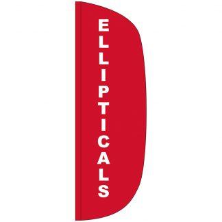 FF-L-310-ELL Ellipticals 3' x 10' Flutter Feather Flag-0