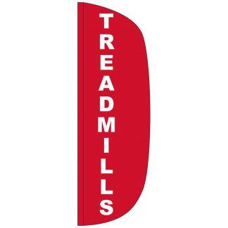 FF-L-310-TREAD Treadmills 3' x 10' Flutter Feather Flag-0