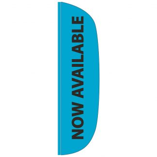FF-L-312-AVAILABLE Now Available 3' x 12' Flutter Feather Flag-0