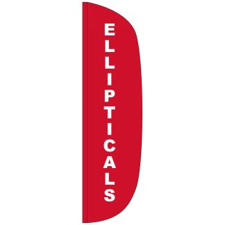 FF-L-312-ELL Ellipticals 3' x 12' Flutter Feather Flag-0