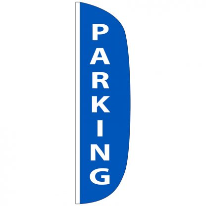 FF-L-312-PARKING Parking 3' x 12' Flutter Feather Flag-0