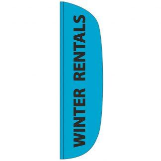 FF-L-312-RENTAL Winter Rentals 3' x 12' Flutter Feather Flags-0