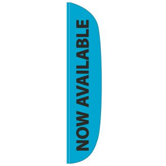 FF-L-315-AVAILABLE Now Available 3' x 15' Flutter Feather Flag-0
