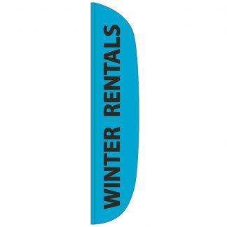 FF-L-315-RENTAL Winter Rentals 3' x 15' Flutter Feather Flags-0
