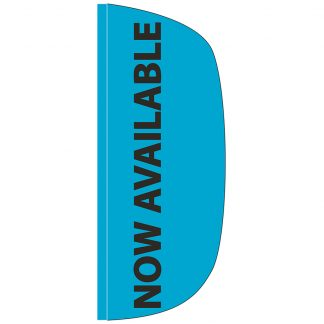 FF-L-38-AVAILABLE Now Available 3' x 8' Flutter Feather Flag-0