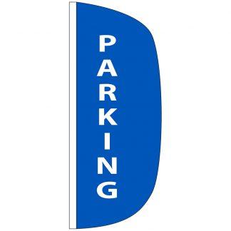 FF-L-38-PARKING Parking 3' x 8' Flutter Feather Flag-0