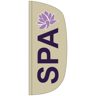 FF-L-38-SPA Spa 3' x 8' Flutter Feather Flags-0