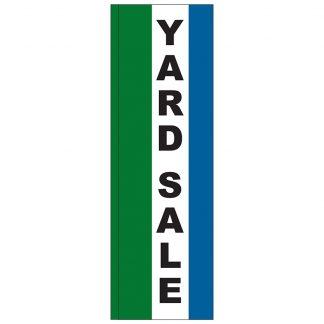 FF-S-310-YARD Yard Sale 3' x 10' Square Feather Flag-0