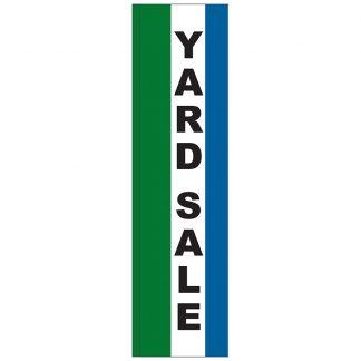 FF-S-312-YARD Yard Sale 3' x 12' Square Feather Flag-0