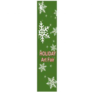 FF-S-315-ARTFAIR Holiday Art Fair 3' x 15' Square Flag-0