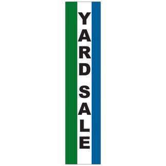 FF-S-315-YARD Yard Sale 3' x 15' Square Feather Flag-0