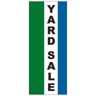 FF-S-38-YARD Yard Sale 3' x 8' Square Feather Flag-0