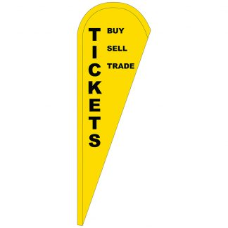 FF-T-310-TICKETS Tickets 3' x 10' Teardrop Feather Flag-0