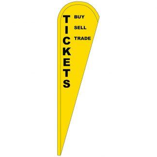 FF-T-312-TICKETS Tickets 3' x 12' Teardrop Feather Flag-0
