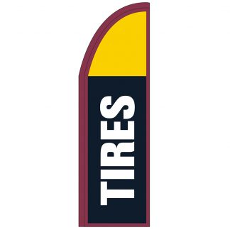 FF-T2-310-TIRES Tires 3' x 10' Half Drop Feather Flags-0