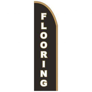 FF-T2-312-FLOORING Flooring 3' x 12' Half Drop Feather Flag-0