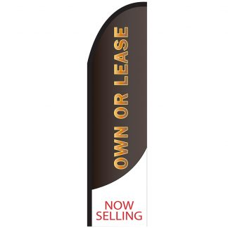 FF-T2-312-OWNORLEASE Own or Lease 3' x 12' Half Drop Feather Drop-0