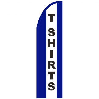 FF-T2-312-TSHIRTS T-Shirts 3' x 12' Half Drop Feather Flag-0