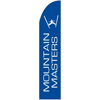 FF-T2-315-MOUNT Mountain Masters 3' x 15' Half Drop Feather Flag-0