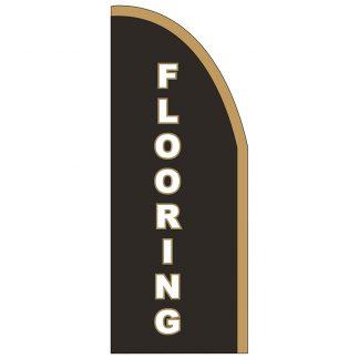 FF-T2-38-FLOORING Flooring 3' x 8' Half Drop Feather Flag-0