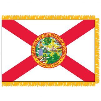 SFI-204-FLORIDA Florida 4' x 6' Indoor Flag-0