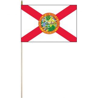 "EPC-1218-FLORIDA Florida 12"" x 18"" Stick Flag-0"