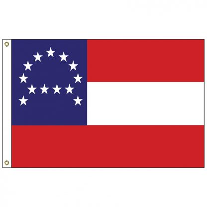 HF-436 General Lee's Headquarters Flag 3' x 5' Outdoor Nylon Flag with Heading and Grommets-0