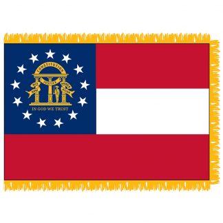 SFI-203-GEORGIA-NEW Georgia 3' x 5' Indoor Flag-0