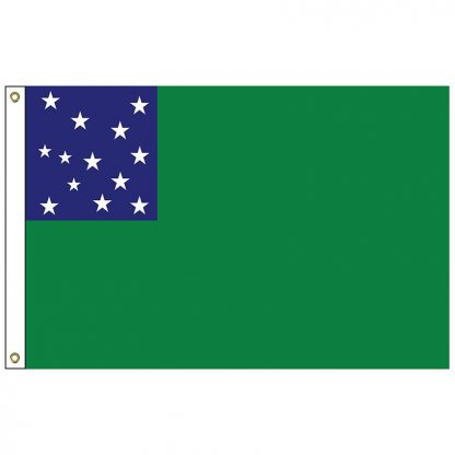 HF-423 Green Mountain Boys 3' x 5' Outdoor Nylon Flag with Heading and Grommets-0
