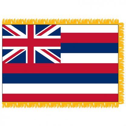 SFI-204-HAWAII Hawaii 4' x 6' Indoor Flag-0