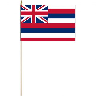 "EPC-1218-HAWAII Hawaii 12"" x 18"" Stick Flag-0"