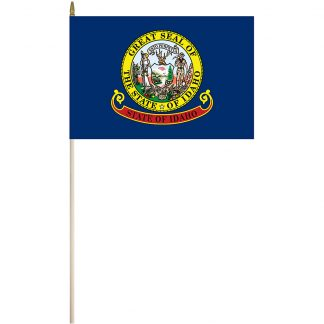 "EPC-1218-IDAHO Idaho 12"" x 18"" Stick Flag-0"