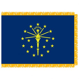 SFI-204-INDIANA Indiana 4' x 6' Indoor Flag-0