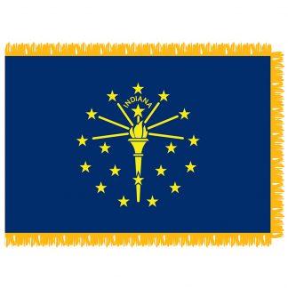 SFI-204-INDIANA Indiana 4' x 6' Indoor Flag-0